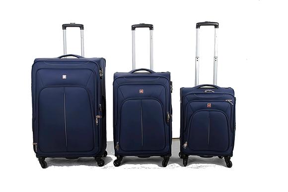 מתוחכם סט מזוודות מבד IT-37